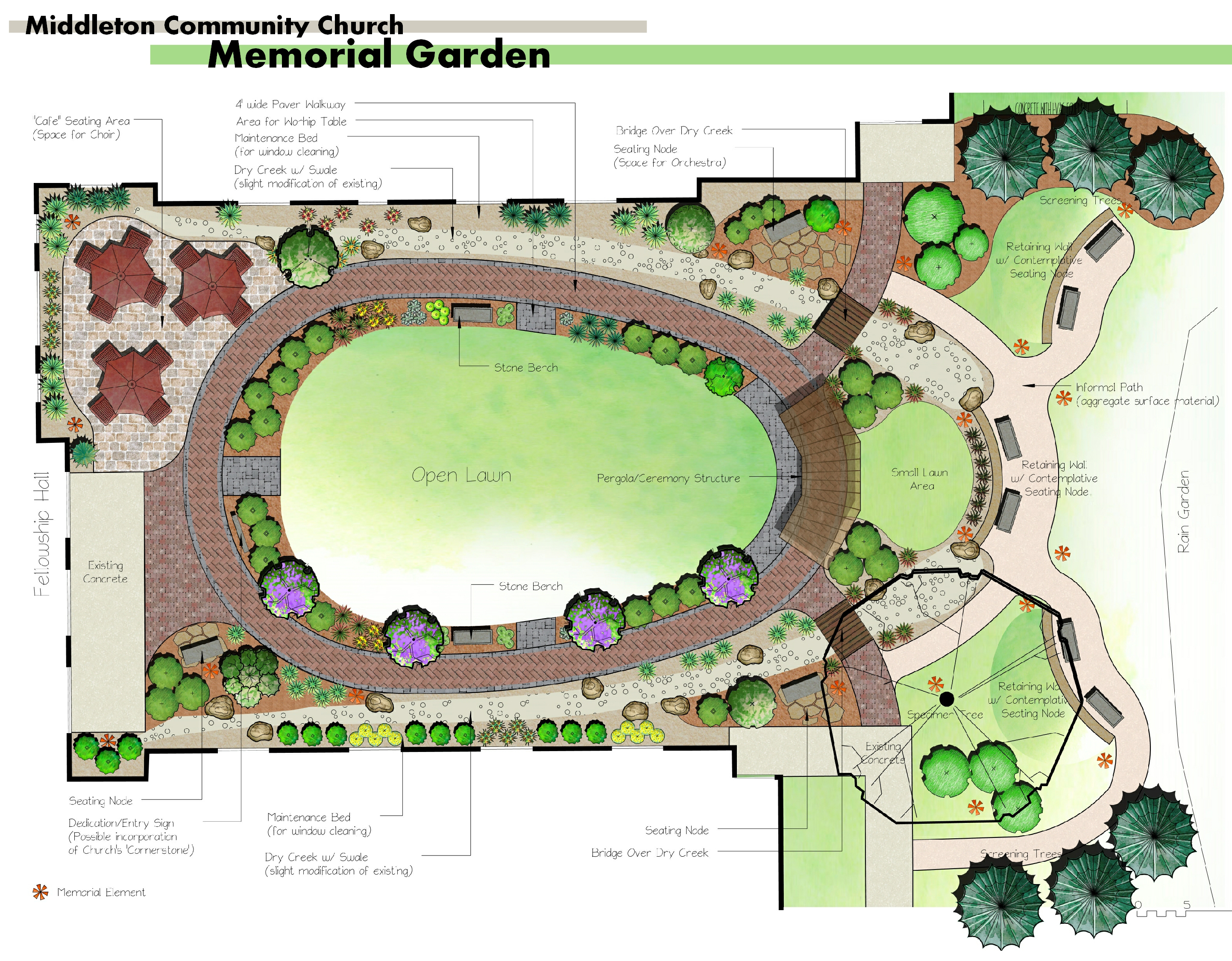 Our New Memorial Garden Is A Blessing To The Church And A Wonderful Place  To Commune With Godu0027s Beauty.